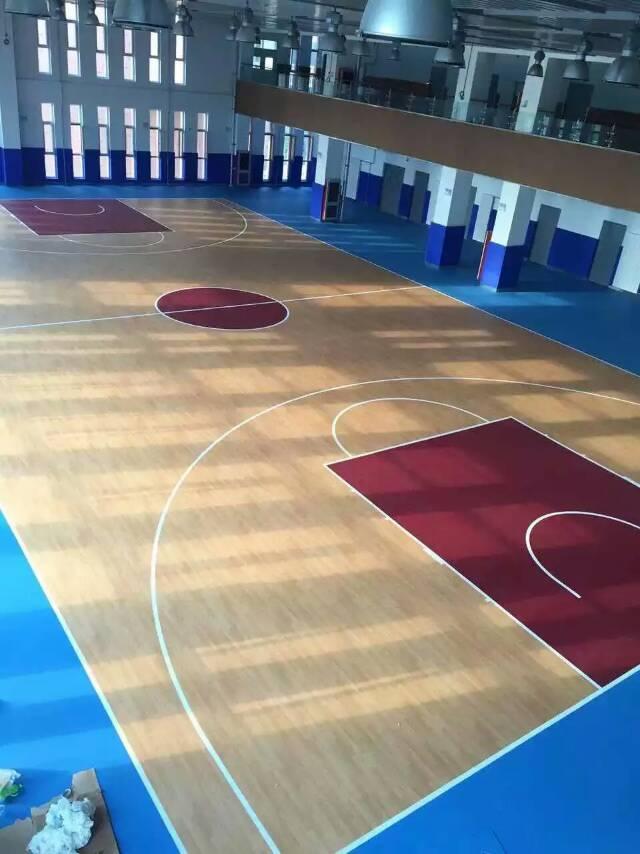 天津环保篮球场铺装 塑胶篮球场建设