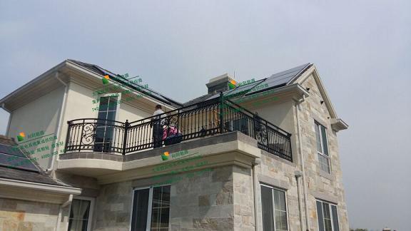 别墅屋顶太阳能