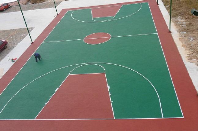 塑胶篮球场价格 青岛博强塑胶铺装有限公司
