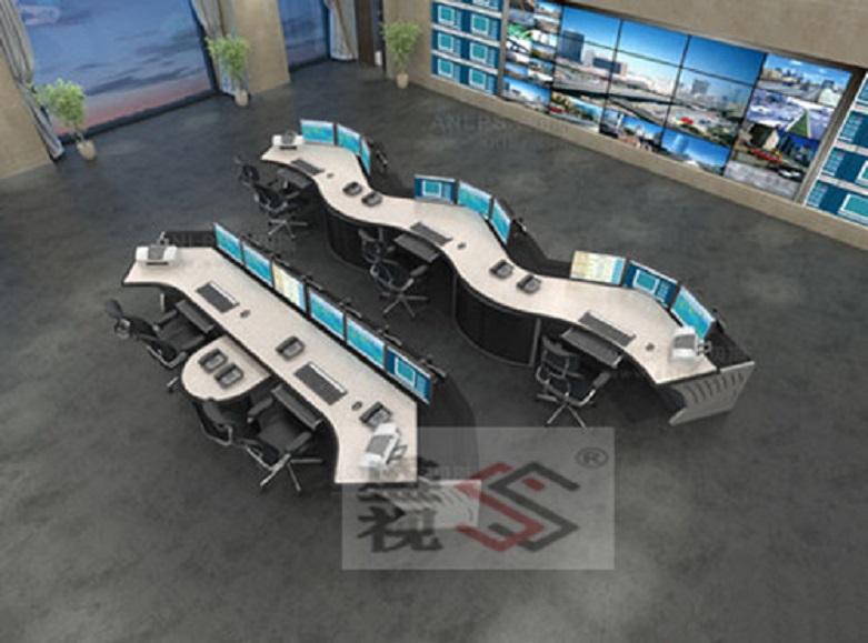 盛视控制台广泛应用于指挥中心,接警铁路,视频调度,枢纽交通监控中心九大厅酷图片