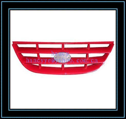 供应各种塑料前窗花格栅注塑模具设计加工制造汽车吊顶设计图图片