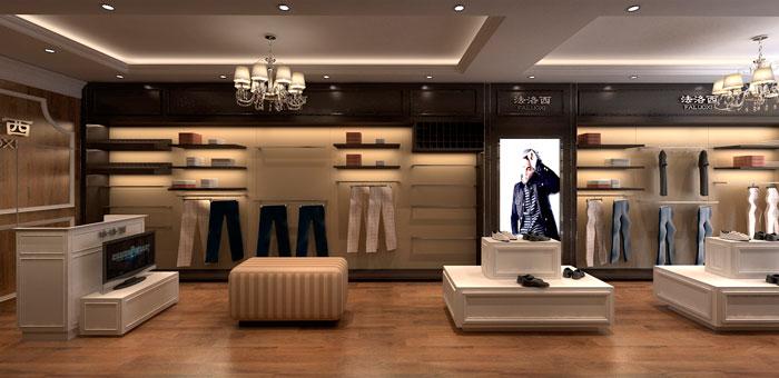 混搭风格服装店装修设计案例商场服装店怎样装修更吸睛