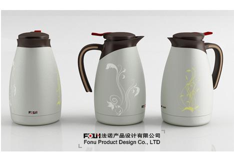 咖啡壶设计 宁波工业设计 外观设计 结构设计