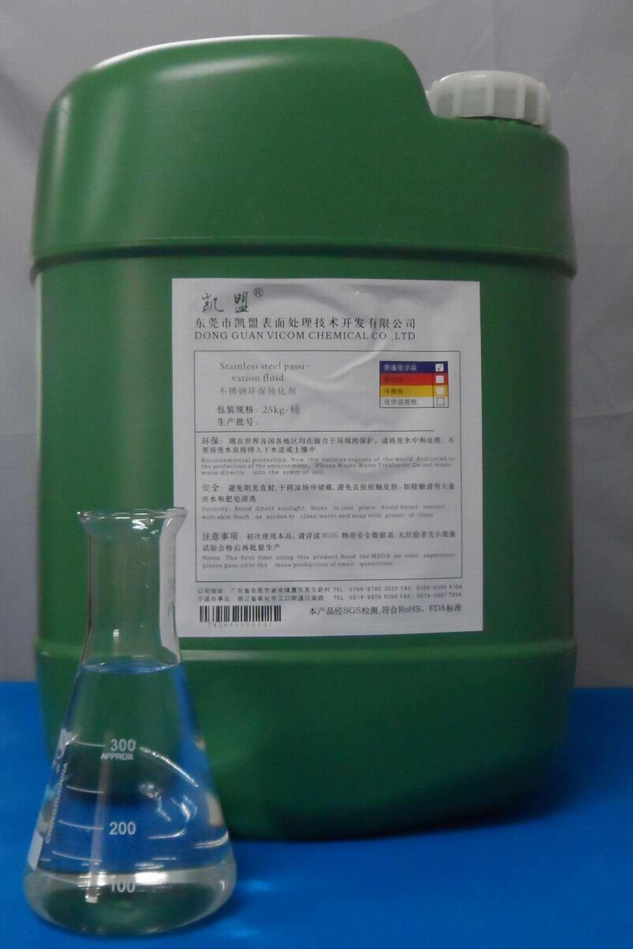 不锈钢酸洗钝化液配方?