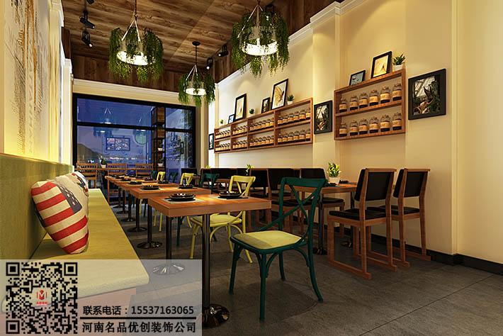 而且快餐店装修选用的色调要力求明快亮丽,室内陈设等都应是系列化