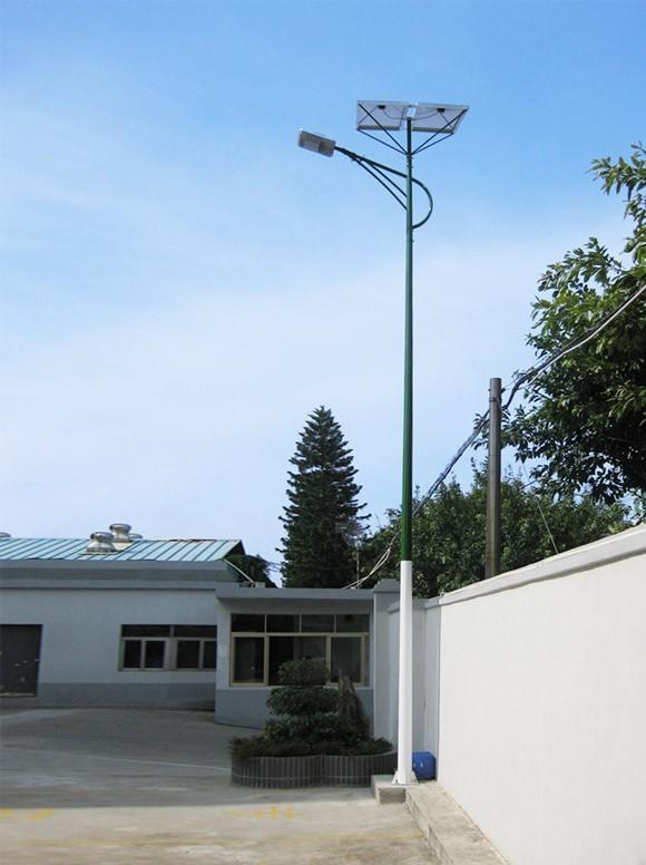 单灯头太阳能庭院灯系统,太阳能路灯系统
