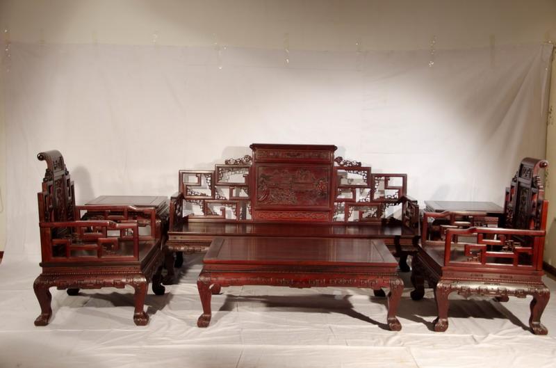 海南黄花梨木家具|北京黄花梨家具生产厂|供应红花梨家具价格|红花梨