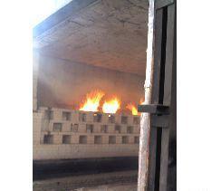 台车式带钢退火炉 纤维结构