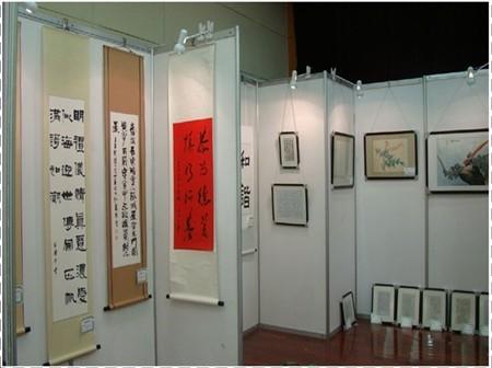 供应广东合邦珠宝展示柜 铝合金展示柜 展示 供应八棱柱展板,pvc展板