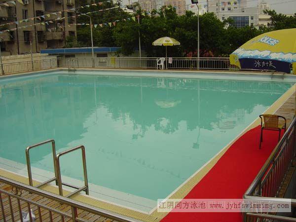 供應大型拆裝式游泳池圖片