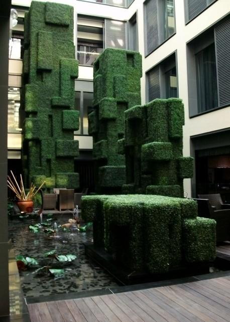 供应仿真植物景观 酒店美容院花艺