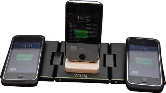 iphone手机充电器 三充套装 手机充电器 无线充电器-手机充电器批发图片
