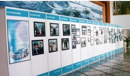 毕业展览展示用八棱柱书画展板