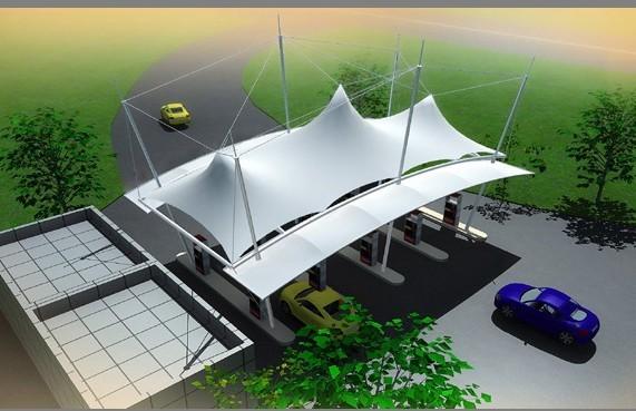 河南膜结构舞台 宜昌膜结构车棚效果图 湖北膜结构设计施工