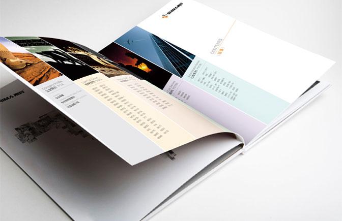 你好,我们是亦墨画册,专业设计企业用于各种场合的宣传册页,企业样本图片