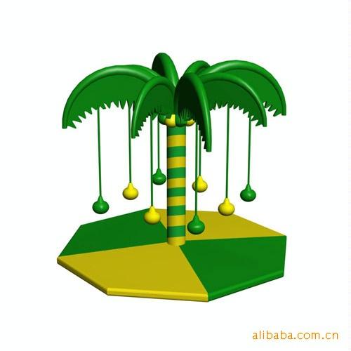 【厂家直销】淘气堡亲子乐园电动系列— 椰子树来之正宇游乐