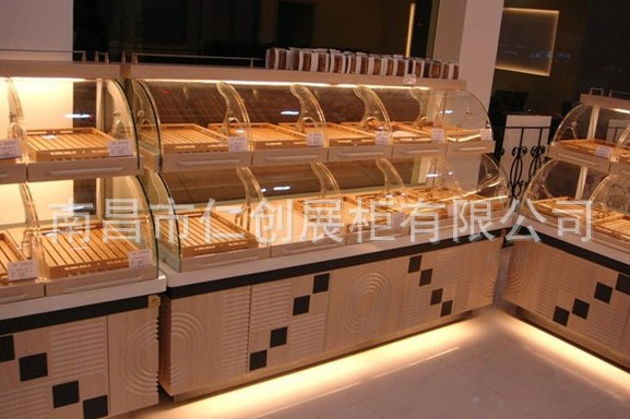 供应超市展柜,商场展柜 供应超市商场酱菜柜展柜 供应有机玻璃食品盒图片