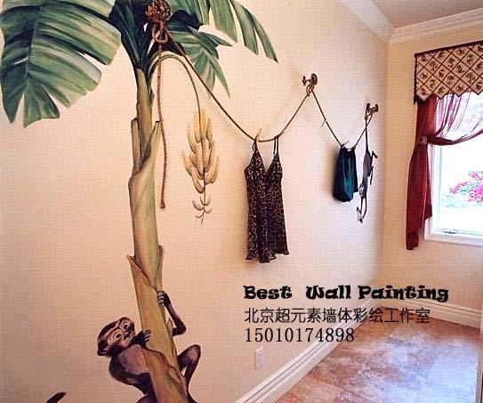 供应彩绘电视墙价格|电视背景墙彩绘价格13191657790