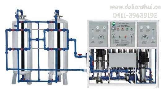 大连单级反渗透纯净水设备17