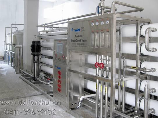 大连反渗透纯净水设备16t/h