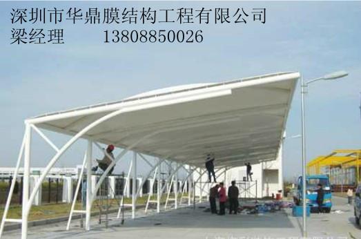 供应青海膜结构车棚 青海膜结构游泳池 青海膜结构看台