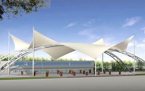 供应新疆膜结构车棚 新疆膜结构游泳池 新疆膜结构看台