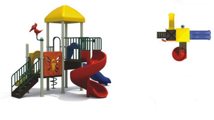 幼儿园滑滑梯简笔画||雪花片滑滑梯图片||儿童滑滑梯