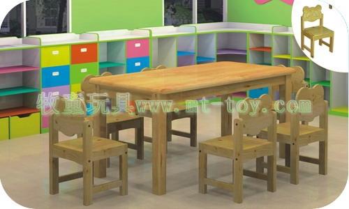 幼儿园桌椅模型