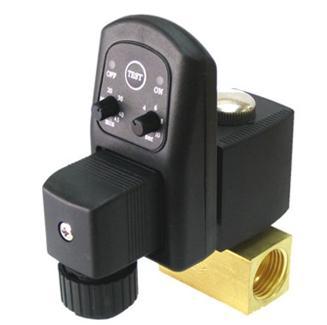 电磁阀 空压机电子排水; 自动排水阀 电磁阀; 济宁电子排水器图片