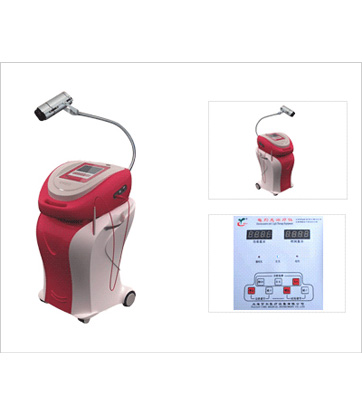 >> 妇科红光治疗仪三合一      红光,微米光,电灼 三合一  治疗原理