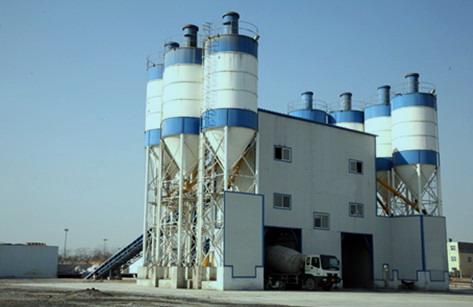 散装水泥罐水泥仓,散装水泥仓为圆柱形结构,底部由四条圆管支腿支撑