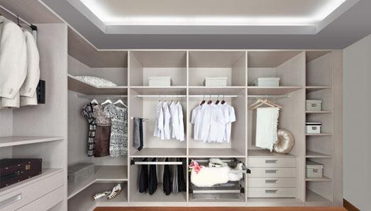 东莞柯拉尼家居整体橱柜整体衣柜索布清风衣柜系列