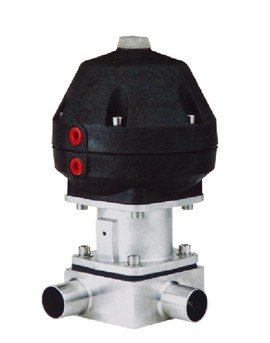 供应盖米型焊接式气动隔膜阀图片