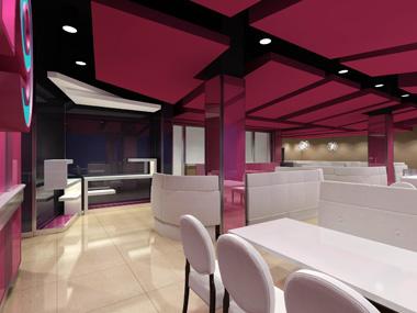 青岛东海湾公寓  青岛华洋大酒店三期工程  青岛麦加利咖啡西餐厅