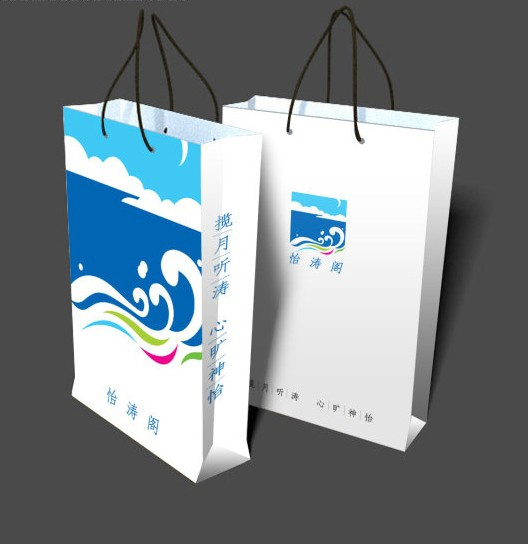 创意帆布手提袋设计图展示