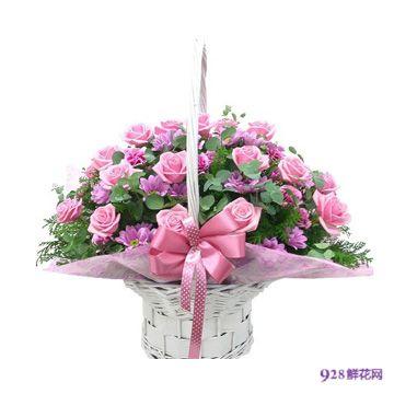 亮丽人生,广州中秋节鲜花速递,广州鲜花速递,9