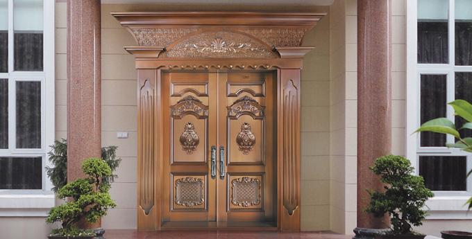 欧式入户铜门图片大全