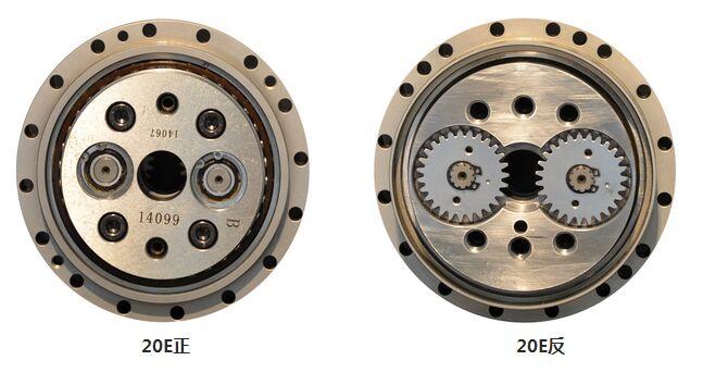 机构和第二级摆线针轮行星减速机构两部分组成,为一封闭差动轮系如图2
