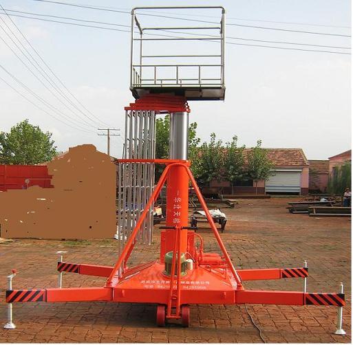 套缸式液压升降机图片