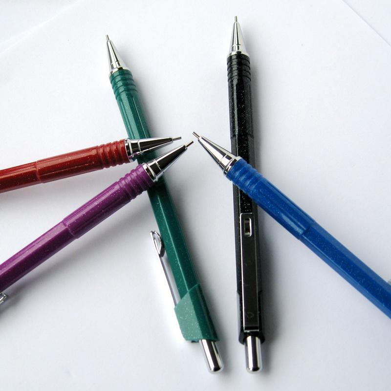 文魁经典自动铅笔活动铅笔超值办公财务学生考试专用状元