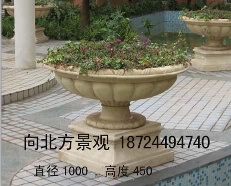 哈尔滨欧式玻璃钢花盆制作,哈尔滨欧式砂岩花盆跌水盆水钵制作厂家