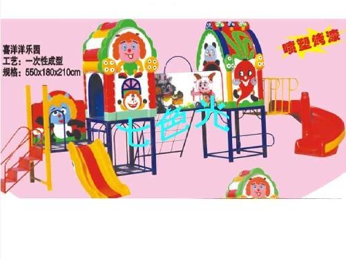幼儿园滑梯,幼儿园玩具,组合滑梯,幼儿园墙壁喷绘,幼儿园内墙装饰喷绘