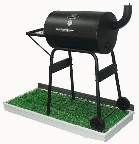 供应美国 masterbuilt BG410燃碳烟道式户外碳烧烤炉