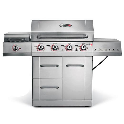 供应美国CharBroil牌 G52104 TRU红外不锈钢燃气烧烤炉