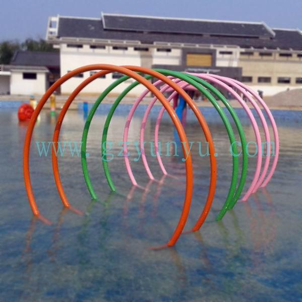 供应水上乐园设备,儿童戏水设备---彩虹拱门