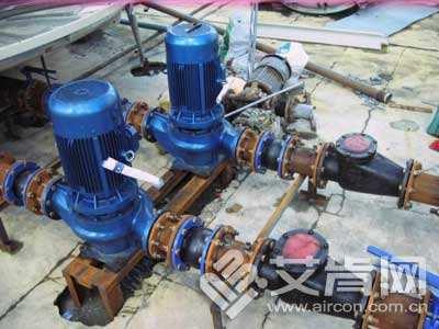 北京门头沟循环泵维修,修理水泵电机接地不转,电机换轴承,做绝缘.图片