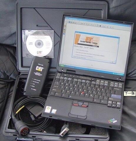 设备分别连接电脑和汽车电脑来检测的,维修人员直接在工作间内即可对