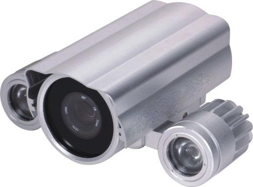 名称:J2-AZ522X 编号:J2-AZ522X 型号:J2-AZ522X 价格:电询400-6939-885 厂商:深圳市图杰电子有限公司 购买: 阵列产品特性 红外夜视距离可达40-80米; SONY super HAD  系列CCD; 大功率高效率红外LED灯,一颗大功率燈亮度相当于18颗中8的红外灯亮度; 采用高性能铝基板,无需散热器; 高科技防水荷业膜玻璃,具有良好的自洁效果; 优良的热传道设计,使外壳成为一个大的散热片; 影像感应器 SONY/SHARP 摄像图素 NTSC:510X492