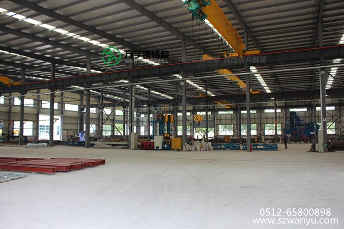 苏州万宇钢结构建筑安装工程有限公司是专业从事钢结构工程,钢结构