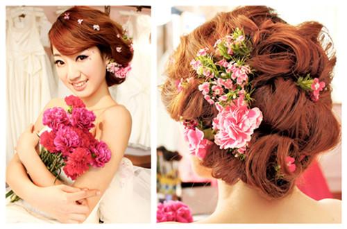 韩式新娘发型,  8.旗袍发型